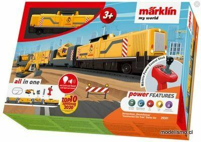 """Reserva anticipada Märklin H0 29341 Märklin my world - Caja de iniciación """"Tren de obras"""""""