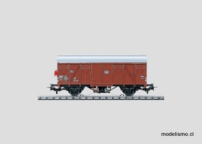 Reserva anticipada Märklin H0 4411 Vagón de mercancías cubierto