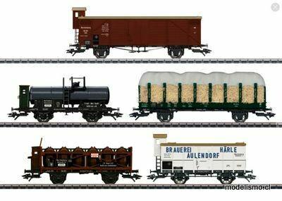 "Märklin H0 45175 Set de vagones de mercancías ""175 años del ferrocarril del Wurttemberg"""