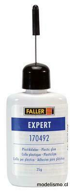 Faller 170492 SUPER-EXPERT, Pegamento plástico, 25 g