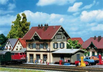 Faller Z 282707 Estación de tren de Güglingen