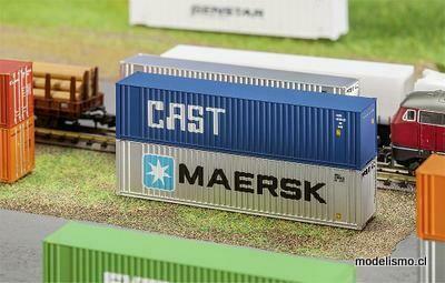 Faller N 272841 Contenedor Hi-Cube de 40 'CAST