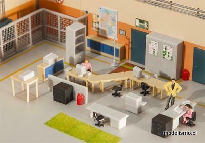 Reserva anticipada Faller 180454 Muebles de oficina