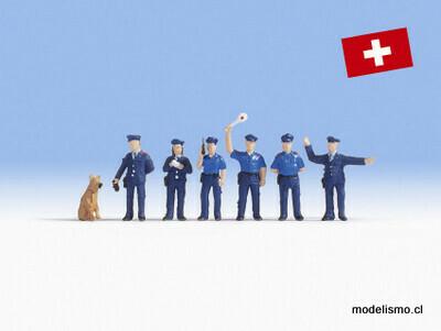 Noch 15075 Oficiales de policía suizos