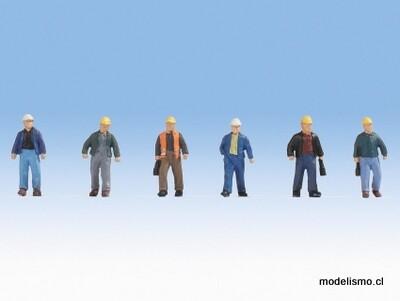 Noch 15057 Trabajadores de la construcción