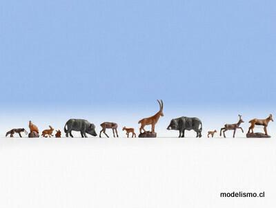 Noch 15745 animales del bosque