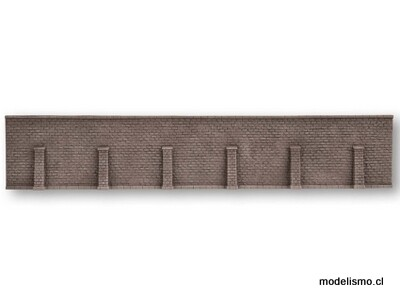 Noch 58274 Muro de contención, 33 x 12,5 centímetros