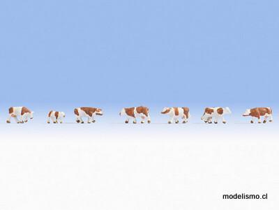Noch 44251 Z Vacas, marrón-blanco