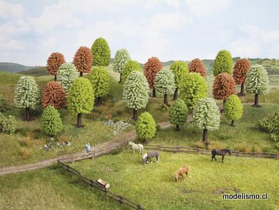 Noch 26806 Árboles de primavera, 25 piezas, 5-9 cm de altura