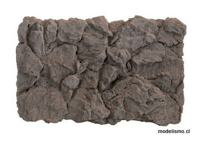 """Noch 58462 Losa de roca de """"basalto"""", 32 x 21 cm"""