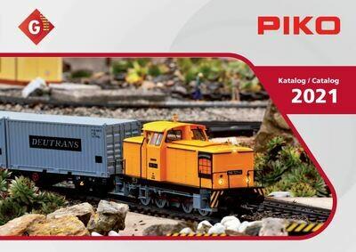 99721 Piko G 2021 catálogo - Aleman/Ingles