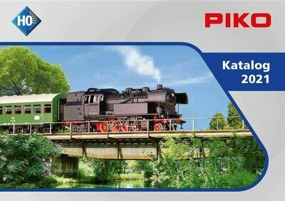 99501 Piko H0 2021 catálogo - Aleman