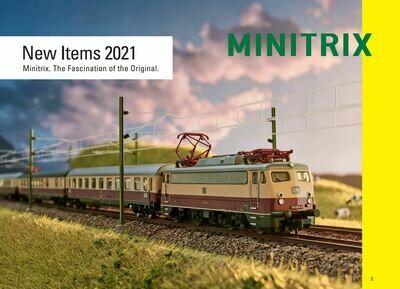 2021 Minitrix N nuevos articulos ingles