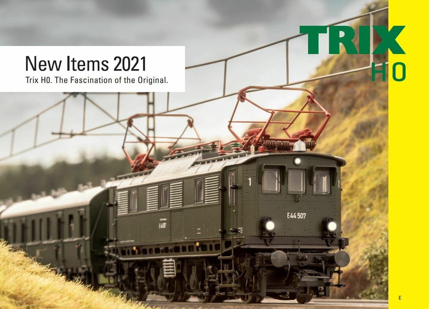 2021 Trix H0 nuevos articulos ingles