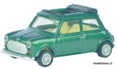 Schuco 452615900 Mini Cooper, verde 1:87