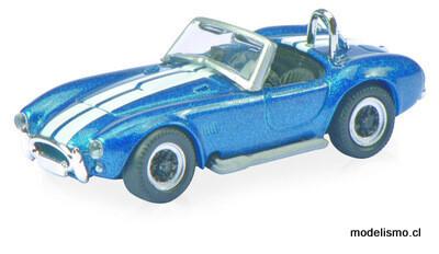 Schuco 452615400 AC Cobra, azul/blanco 1:87