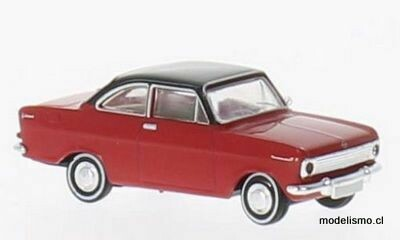 Reserva anticipada Brekina 20330 Opel Kadett A Coupe rojo, negro, 1:87