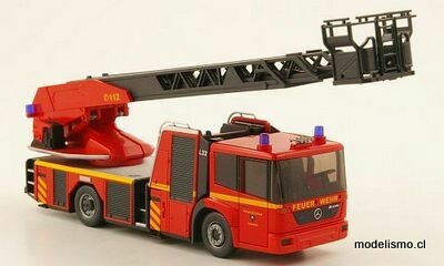 Reserva anticipada Wiking 62703 Mercedes Econic Metz DL 32 cuerpo de bomberos Lübeck, 1:87