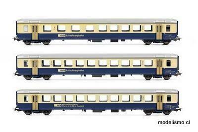 Piko 96788 BLS 2 EW I AB+ B y 1 x BN B azul/beige DC Ep.V