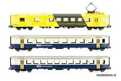 Piko 96787 EW I Set BLS A, B + SBB WR Chäs Express DC Ep.V