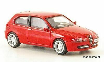 Ricko 38311 Alfa Romeo 147 rojo, 2001, 1:87