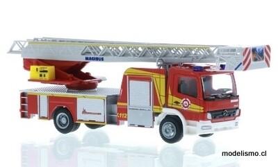Reserva anticipada Rietze 71618 Iveco Magirus DLK 32 Departamento de bomberos de Weilheim, 1:87