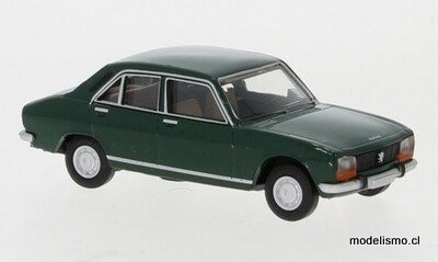 Brekina 29118 Peugeot 504 verde oscuro, 1961, 1:87
