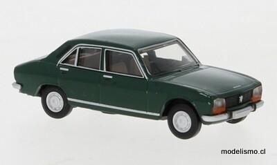Reserva anticipada Brekina 29118 Peugeot 504 verde oscuro, 1961, 1:87