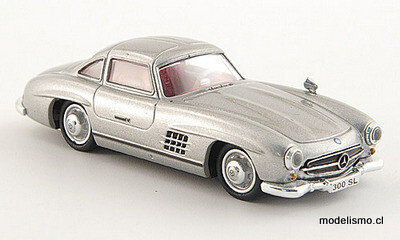 Reserva anticipada Ricko 38394 Mercedes 300 SL (W198) plateado, 1:87