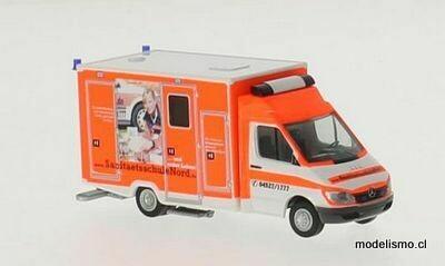 Reserva anticipada Rietze 61798 Mercedes Sprinter Wietmarscher Ambulancia RTW Sanitätsschule Nord, 1:87