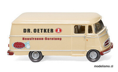Wiking 26504 Furgoneta Mercedes L 319 1955, Dr. Oetker, 1:87