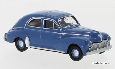 Reserva anticipada Brekina 29059 Peugeot 203 azul, 1948, 1:87
