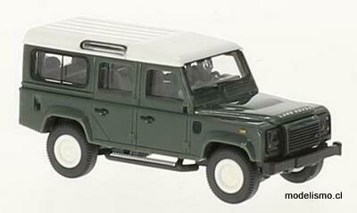 Reserva anticipada Wiking 10202 Land Rover Defender 110 verde, blanco, 1:87