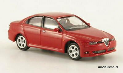 Ricko 38339 Alfa Romeo 156 GTA rojo, 2002, 1:87