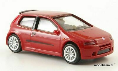Reserva anticipada Ricko 38329 Fiat Punto rojo, 2003, 1:87
