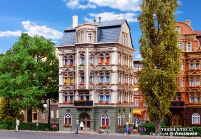 Reserva anticipada Vollmer 43815 H0 Casa de la ciudad en el parque, Schlossallee 5