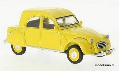 SpecialC.-88 Citroen 2CV Citroneta, amarillo, 1970, 1:43