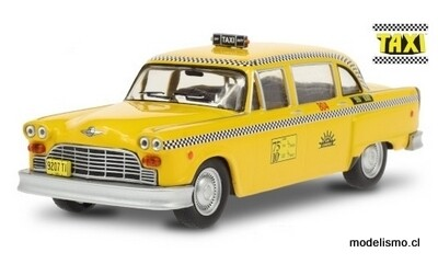 Checker A11 Marathon Taxi Cab, Sunshine Cab Company, 1974, Taxi (1978-83 TV-Series), 1:43