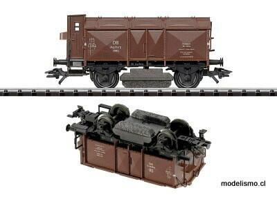 Trix H0 24050 Vagón limpiacarriles