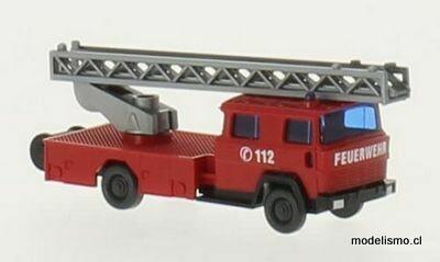 Wiking N 96203 Magirus DL 30, escalera giratoria para bomberos