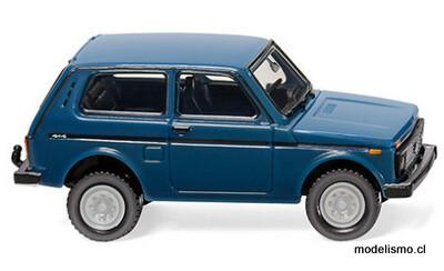 Reserva anticipada Wiking H0 20802 Lada Niva azul