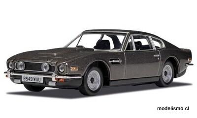 Corgi 4805 Aston Martin V8 Vantage, gris oscuro metálico, RHD, James Bond 007 No Time to Die 1:36