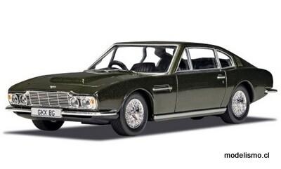Corgi 3804 Aston Martin DBS, verde oscuro metalizado, RHD, James Bond 007 On Her Majestys Secret Service 1:36