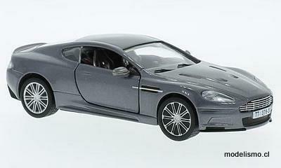 Corgi 3803 Aston Martin DBS, gris metálico, RHD, James Bond Casino Royale 1:36