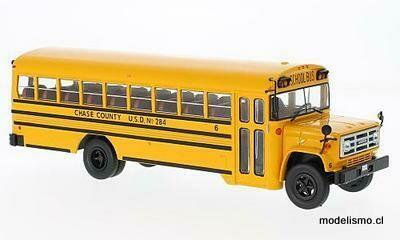 IXO 004 GMC 6000 Schoolbus 1:43