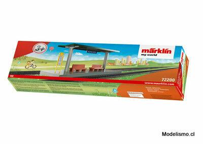"""Märklin 72200 my world Kit de construcción """"Andén"""""""