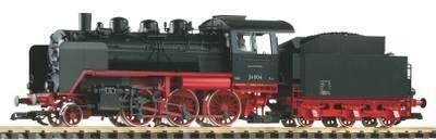 Piko 37222 G Locomotora de vapor BR 24 DR III (incluido vapor)