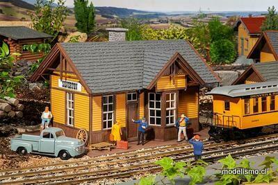 Reserva anticipada Pola G 330850 Estación de tren Silverton American