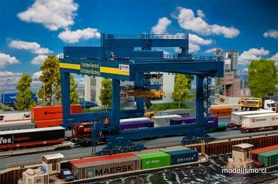 Faller 120291 Puente de contenedores GVZ port Nuremberg