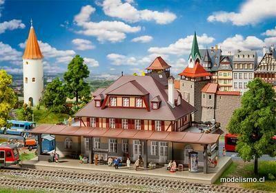 Reserva anticipada Faller 191761 Estación de tren de Burgschwabach